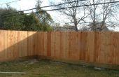 How to Build een houten hek van achtertuin