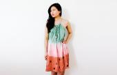 Hoe maak je een jurk van watermeloen