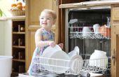 Zelfgemaakte vaatwasser wasmiddel maken
