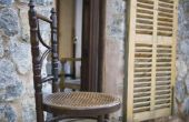 Hoe Cane een ronde stoel