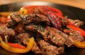 Hoe maak je authentieke rundvlees Fajitas