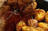 Hoe te het braden van een hele been van hertenvlees