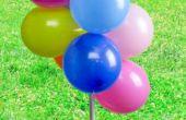 Hoe maak je een boog van de ballon zonder Helium