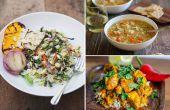 Makkelijk te maken van gezonde maaltijden