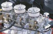 Het aanpassen van een Carter 2BBL Carburetor