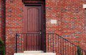 Hoe te een stalen deur Refinish