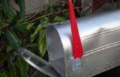 Hoe u een postbus koppelt aan de reling van een veranda