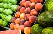 Lijst van vroege voorjaar vruchten & groenten