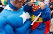 Hoe maak je een masker van Captain America