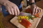 Hoe geroosterde paprika