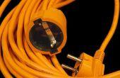 Hoe te repareren van elektrische snoeren met elektrische Tape