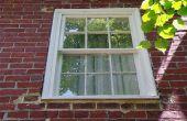 DIY vervangen Double Sash venster voorjaar