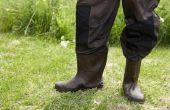 Scuff reparatie voor laarzen