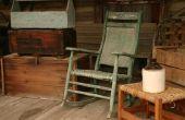 Hoe te identificeren van een antieke schommelstoel