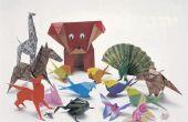 Hoe maak je een Origami Luipaard