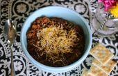 Hoe te bevriezen van Chili soep