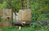 Hoe te repareren van een gevallen hek