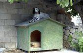 Hoe een hondenhuis om koel te houden in de zomer