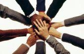 Teamwork workshopactiviteiten.