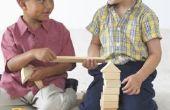 Doe het zelf voor het schilderen van een Boy's Toy Box