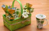 Hoe maak je een mand van de Gift van thee