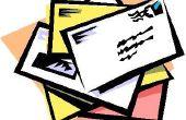 Hoe Mail een brief samenvoegen