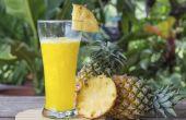 Alcoholische dranken met ananassap