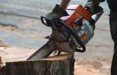 Hoe vervang ik een oliepomp voor Poulan kettingzaag