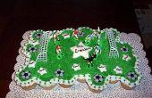 Hoe maak je een Cake van de Cupcake voetbal