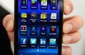 Hoe vindt u uw telefoonnummer op uw BlackBerry