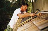 How to Fix verteerde dak terrasplanken