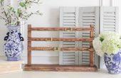 Hoe maak je een houten bureaukalender