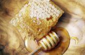 Het gebruik van honing verwijderen van Whiteheads