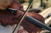 Materialen gebruikt voor het maken van een viool