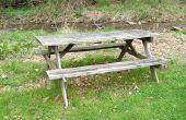 Hoe te handhaven van een houten picknicktafel