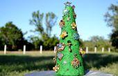 Hoe maak je een Vintage Sieraden-kerstboom