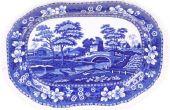 Hoe tot op heden oude Japanse blauwe & wit porselein