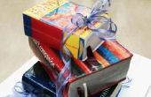 Hoe maak je een boek-vormige Cake