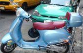 Scooter vs. fiets