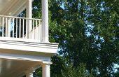 DIY veranda kolommen