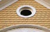 Schimmel verwijderen uit een Soffitt & Eave van dak zonder nadelige gevolgen voor planten