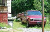 DIY boot rek voor een vrachtwagen