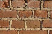 Hoe te repareren van een tuin van kleine bakstenen muur