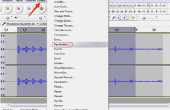 Hoe maak je een blikkerige stem geluid Fuller in Audacity