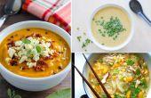 Gemakkelijke soep recepten te maken voor een doordeweekse avond diner