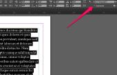 Hoe kan ik uitschakelen woordafbreking in Adobe InDesign?