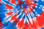 How to Tie Dye met rode & blauw
