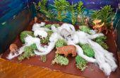 Hoe maak je een Taiga Diorama