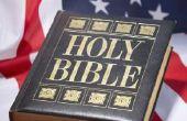 """God Bless America"" zondagsschool ambachten"