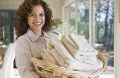 Bij het wassen van de blanken kunt u bleekmiddel & wasmiddel?